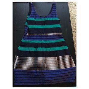 LOFT striped LBD